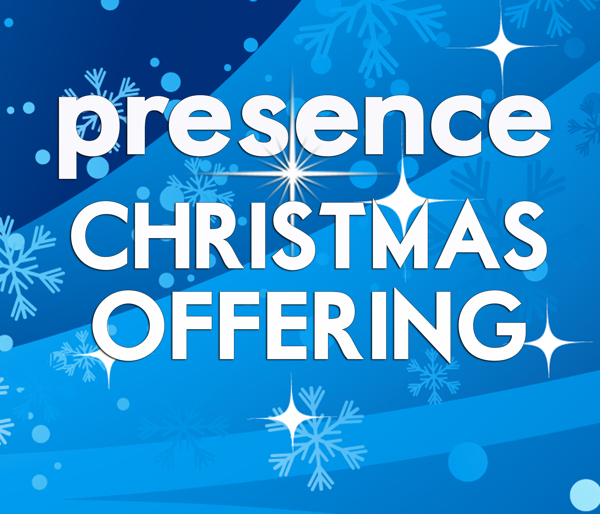 Be the Presence of Jesus through a Christmas Offering