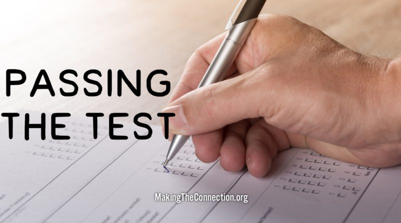 Passting the Test