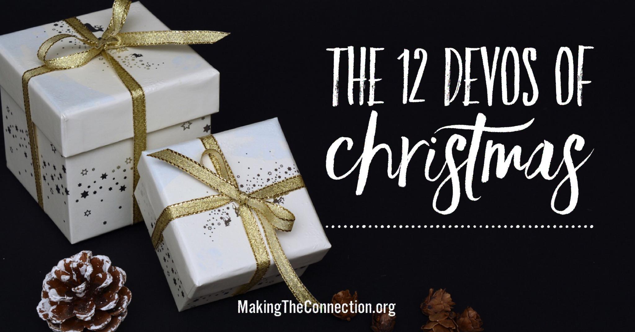 12 Devos of Christmas