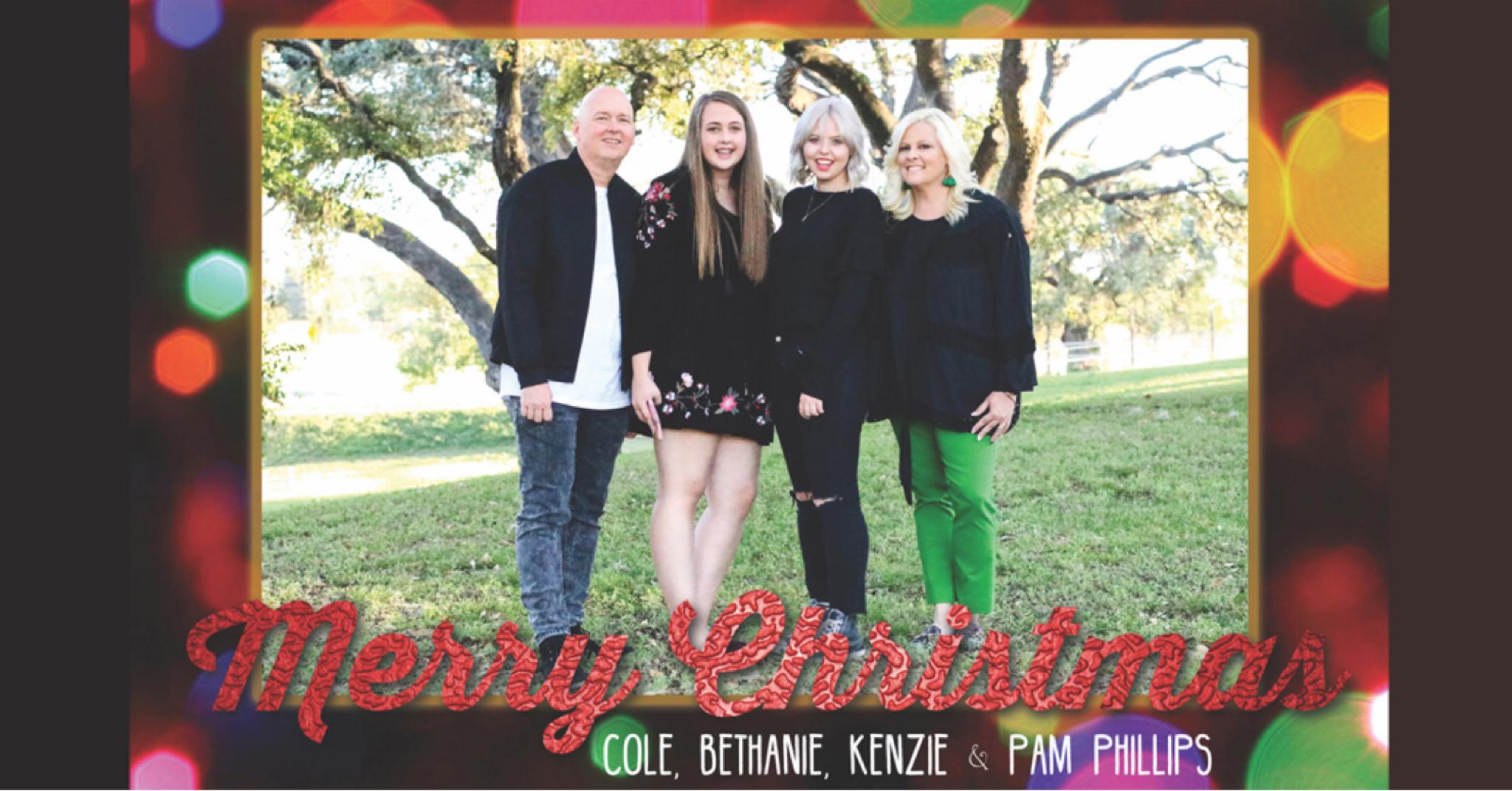 Merry Christmas Phillips Family