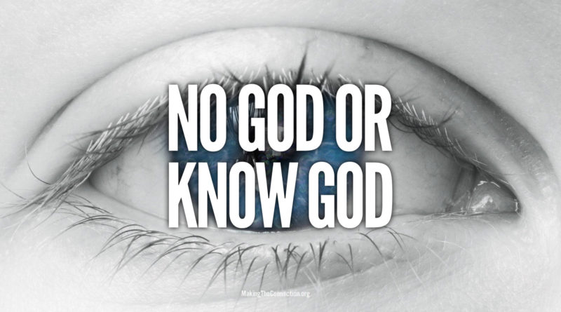 No God or Know God