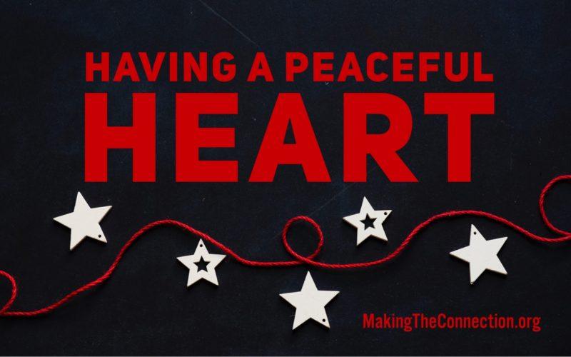 peaceful heart