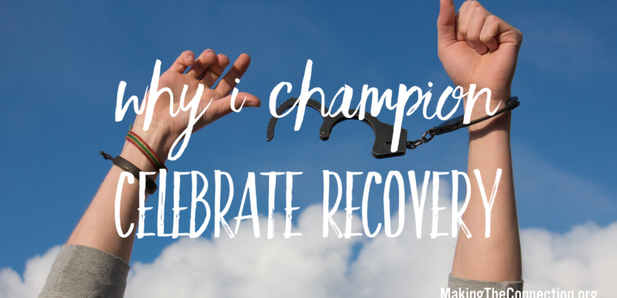 Champion Celebrate Recovery
